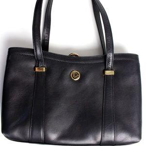 Dior Black Leather Purse